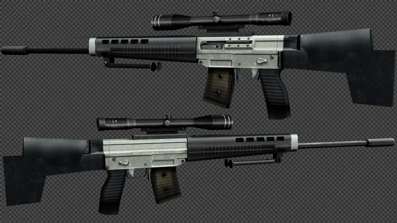 скачать Default SG550 Remake on HAVOC бесплатно